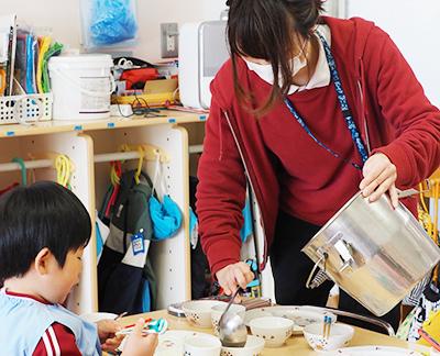 食育 収穫 幼稚園